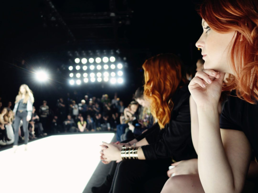 anna frost fashion week front row januar