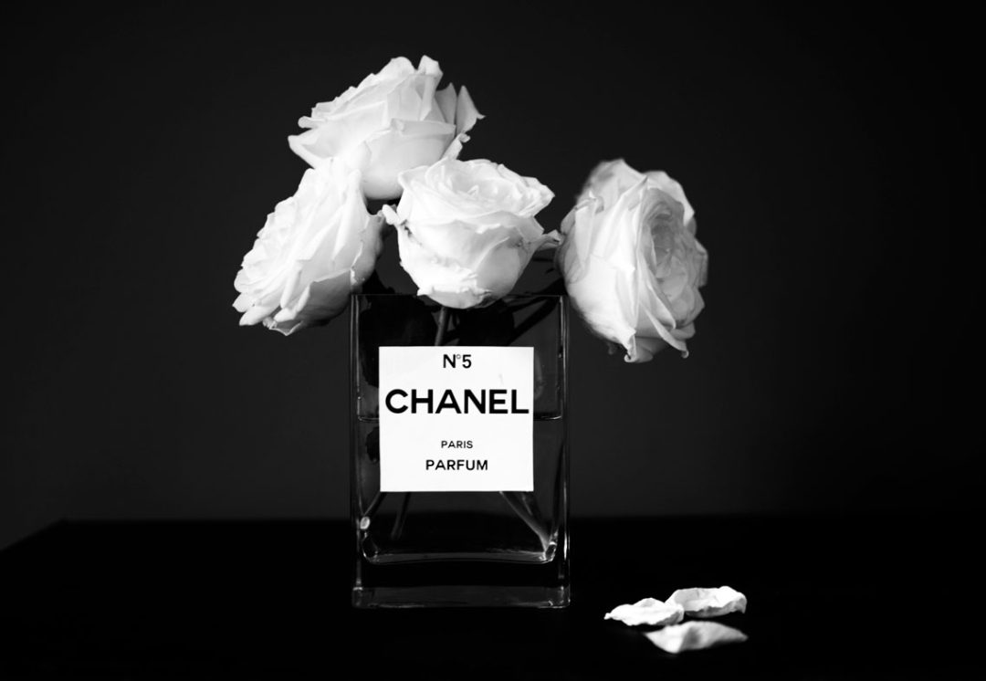 diy chanel vase flowers no  perfume