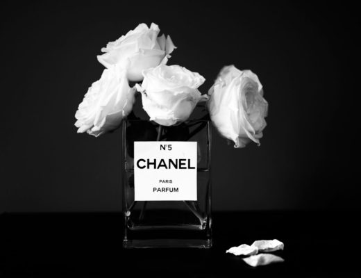 diy chanel vase flowers no  perfume