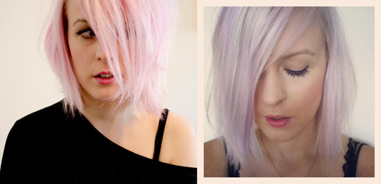 Weiß blonde haare