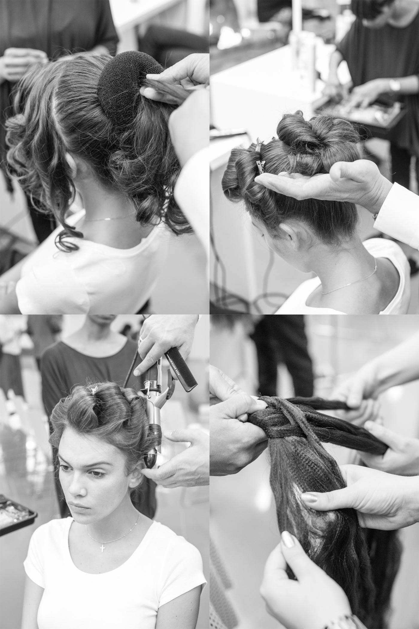 lena hoschek spring summer 2015 hairdo