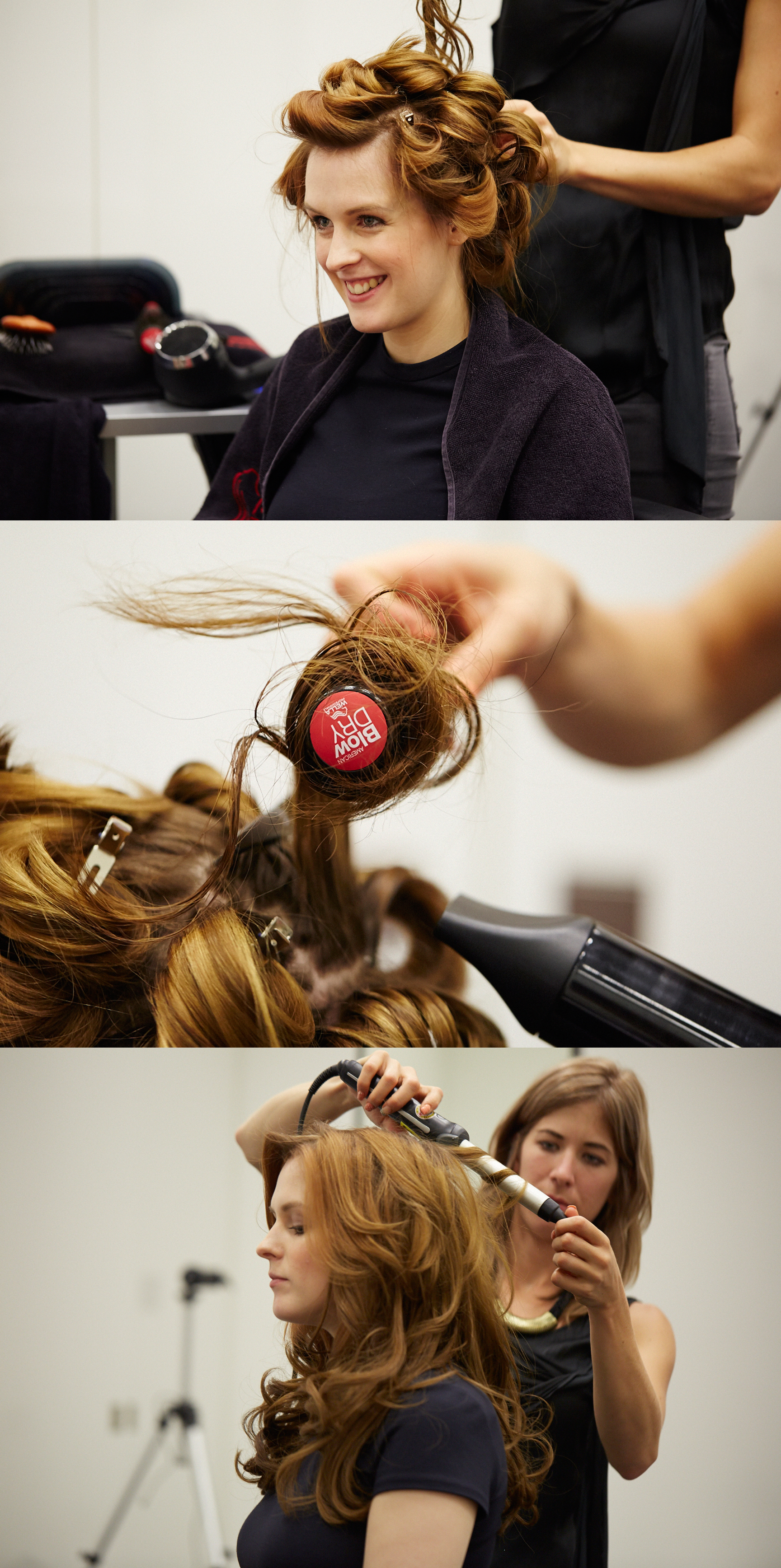 wella professionals american blow dry bar anna frost