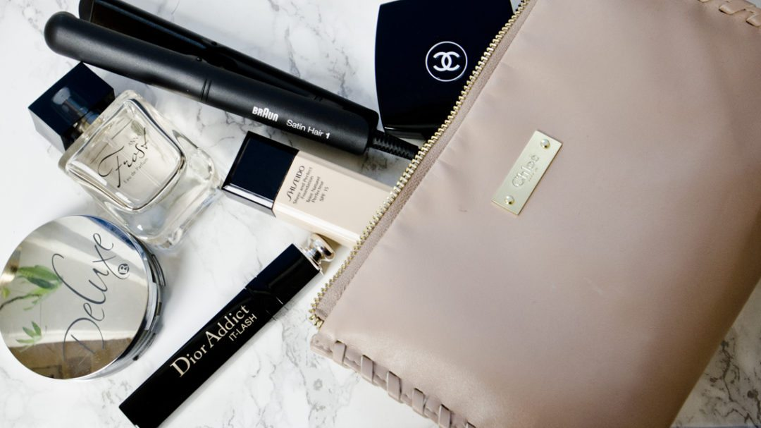 how to pack beauty bag anna frost