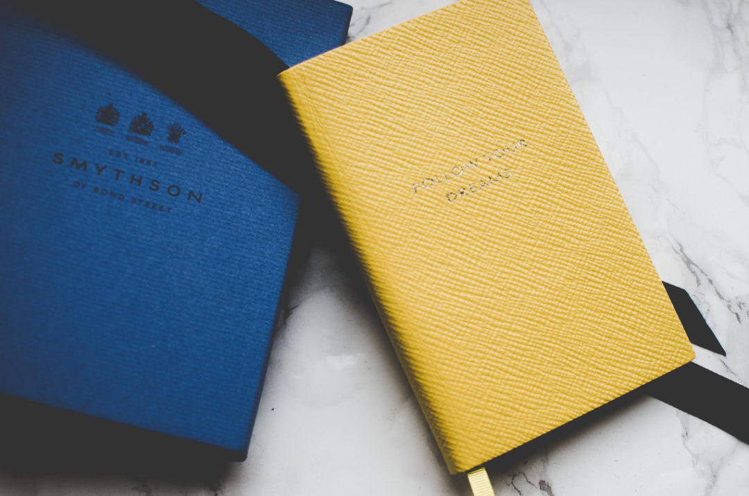 smythson follow your dreams