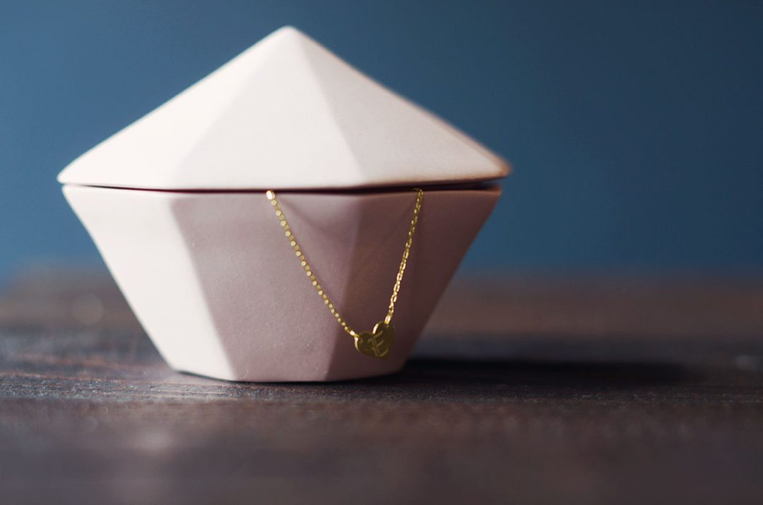 etsy muttertag kette  anna frost