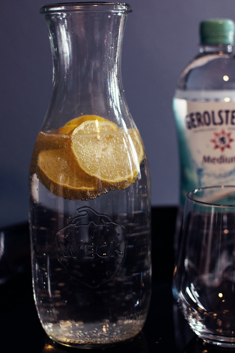 gerolsteiner wasserwoche infused water