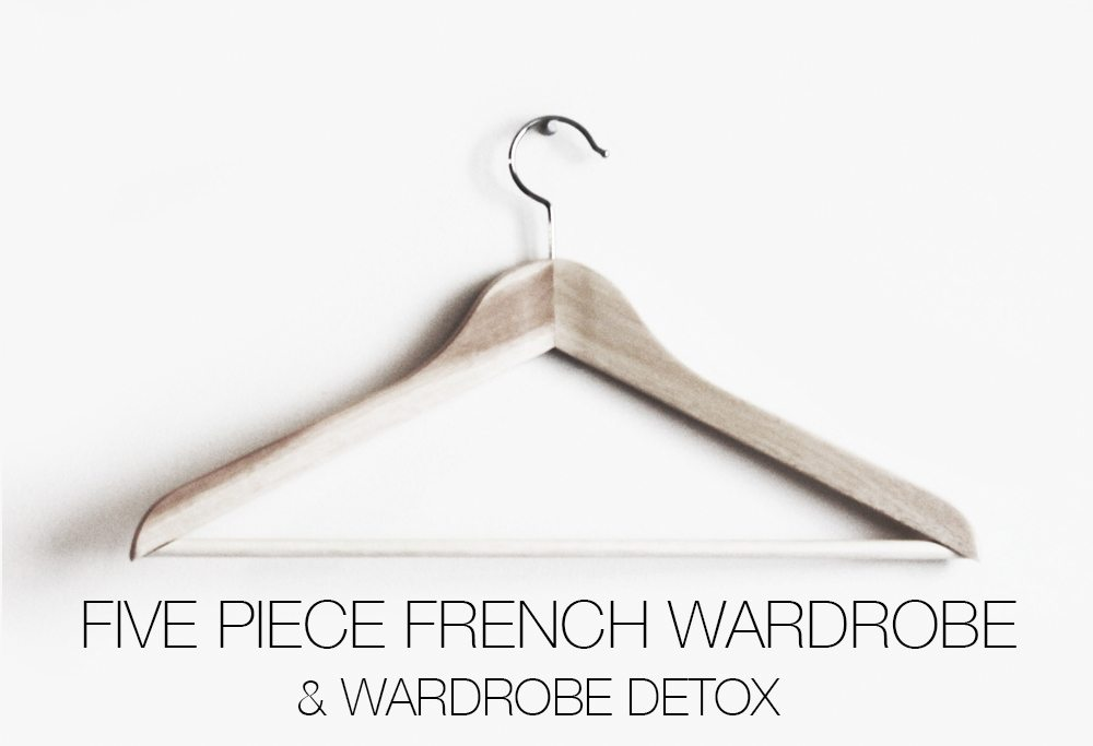 piece french wardrobe detox