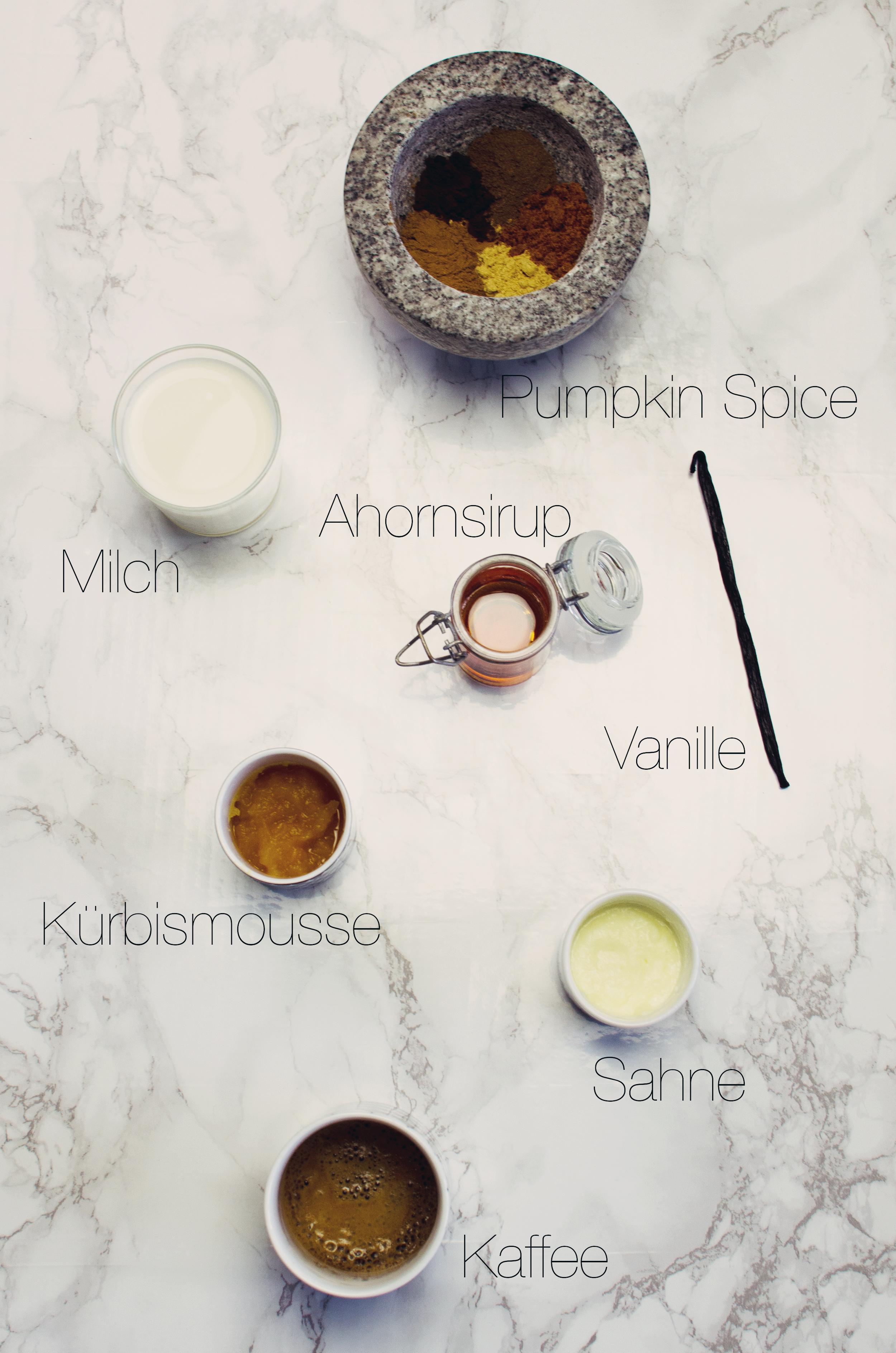 homemade pumpkin spice latte anna frost zutaten