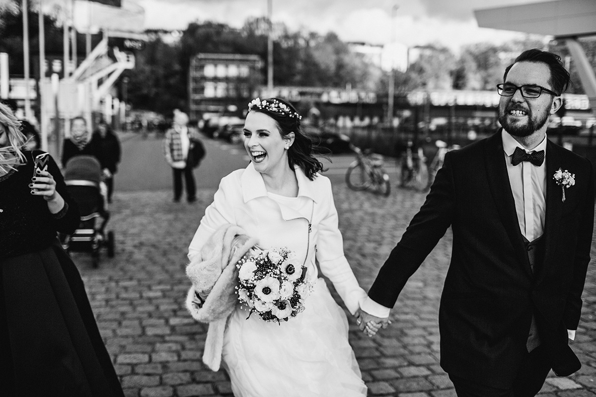 anna frost wedding jakob adler b w