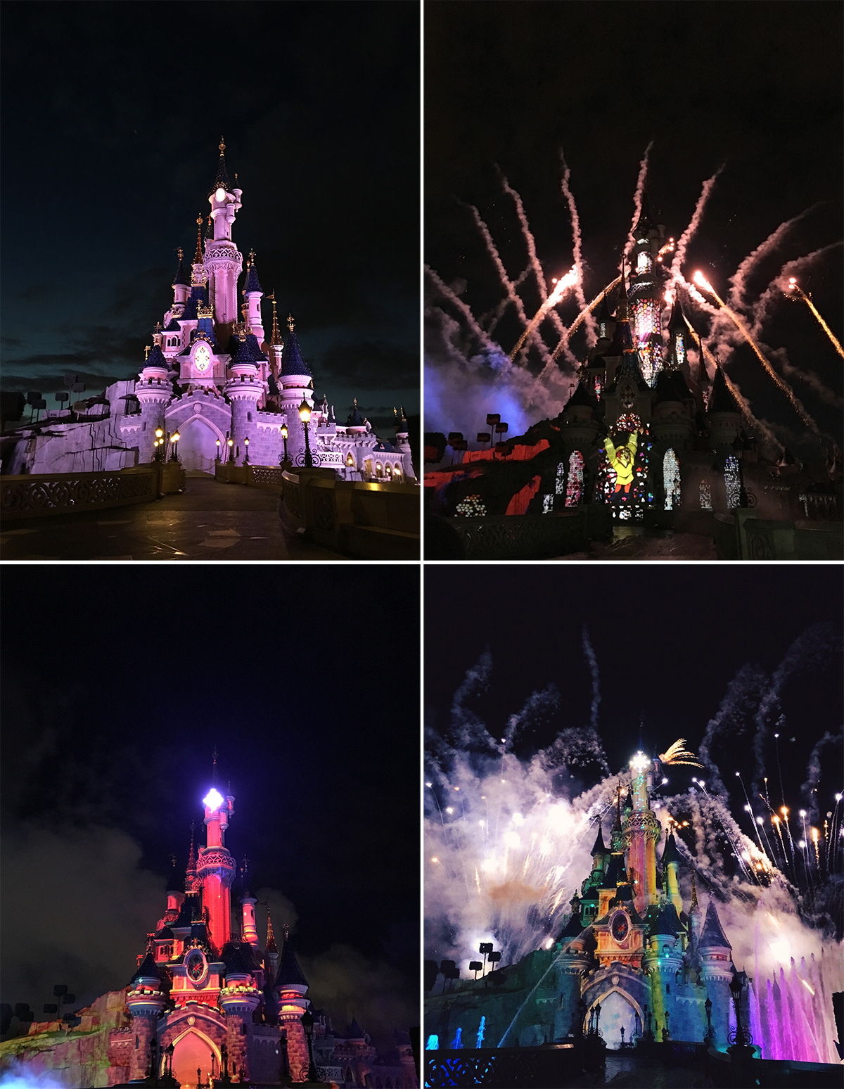 anna frost fafine disney castle disneyland paris