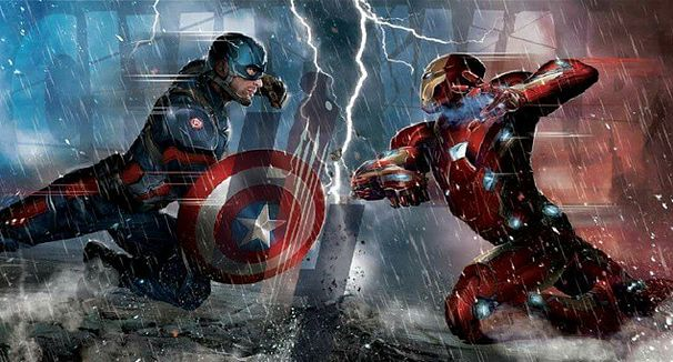 captain america iron man civil war the avengers