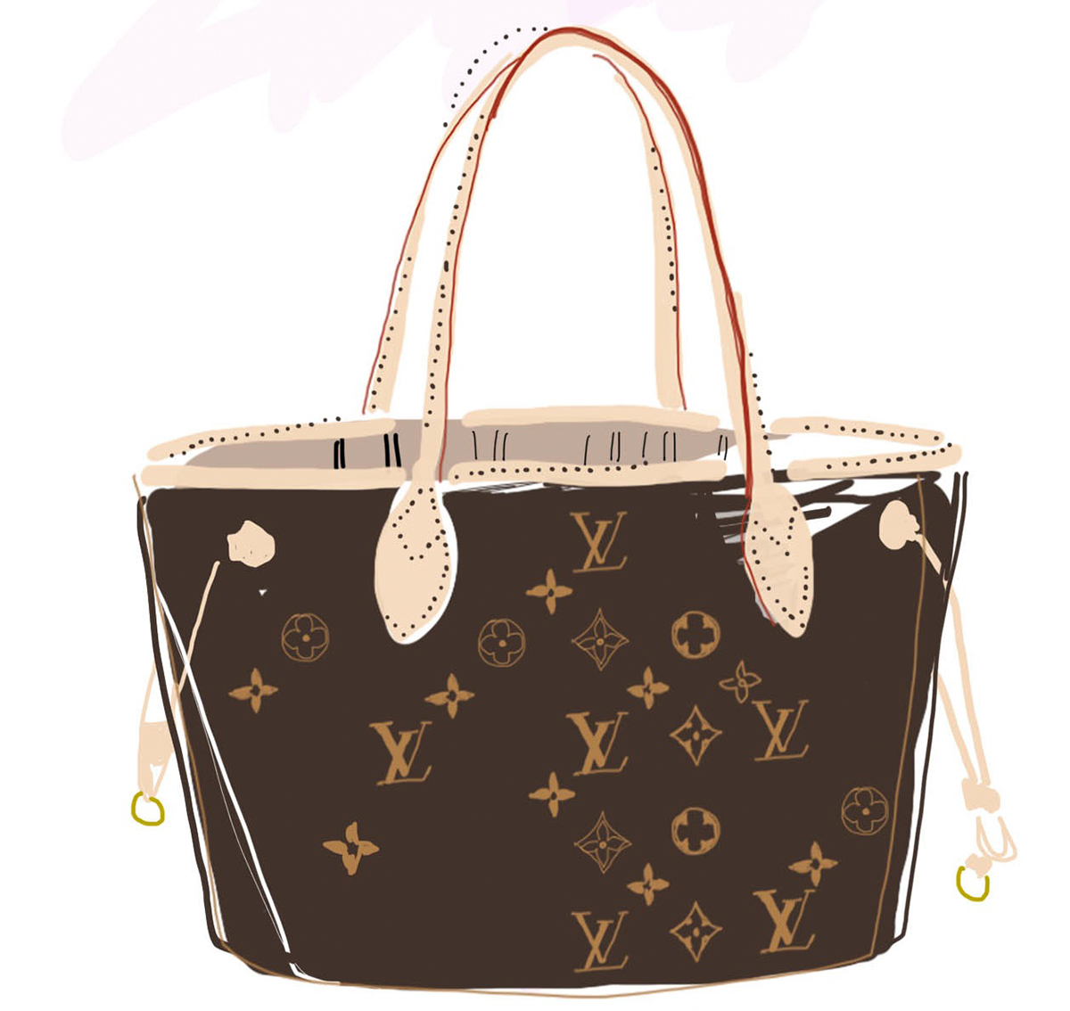 louis vuitton neverfull die ultimative mom bag fafine by anna frost. Black Bedroom Furniture Sets. Home Design Ideas