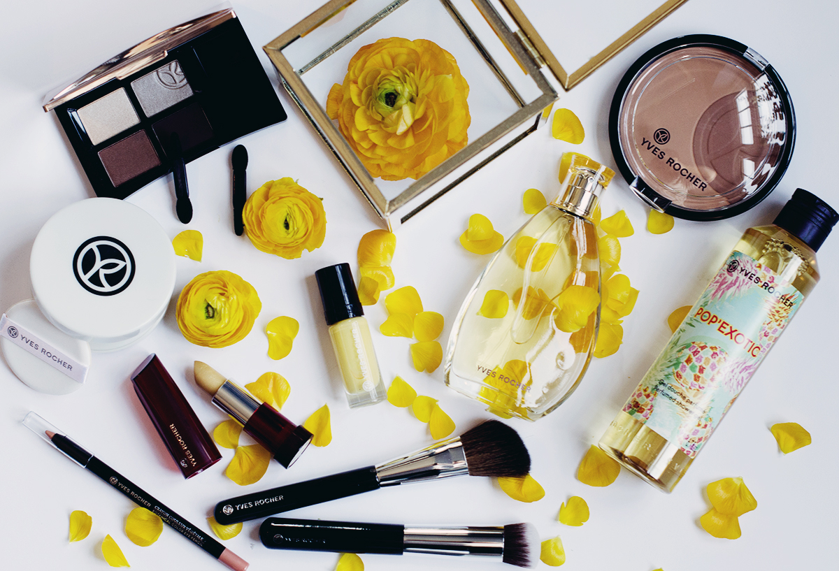 yves rocher yellow makeup pop exotic 2