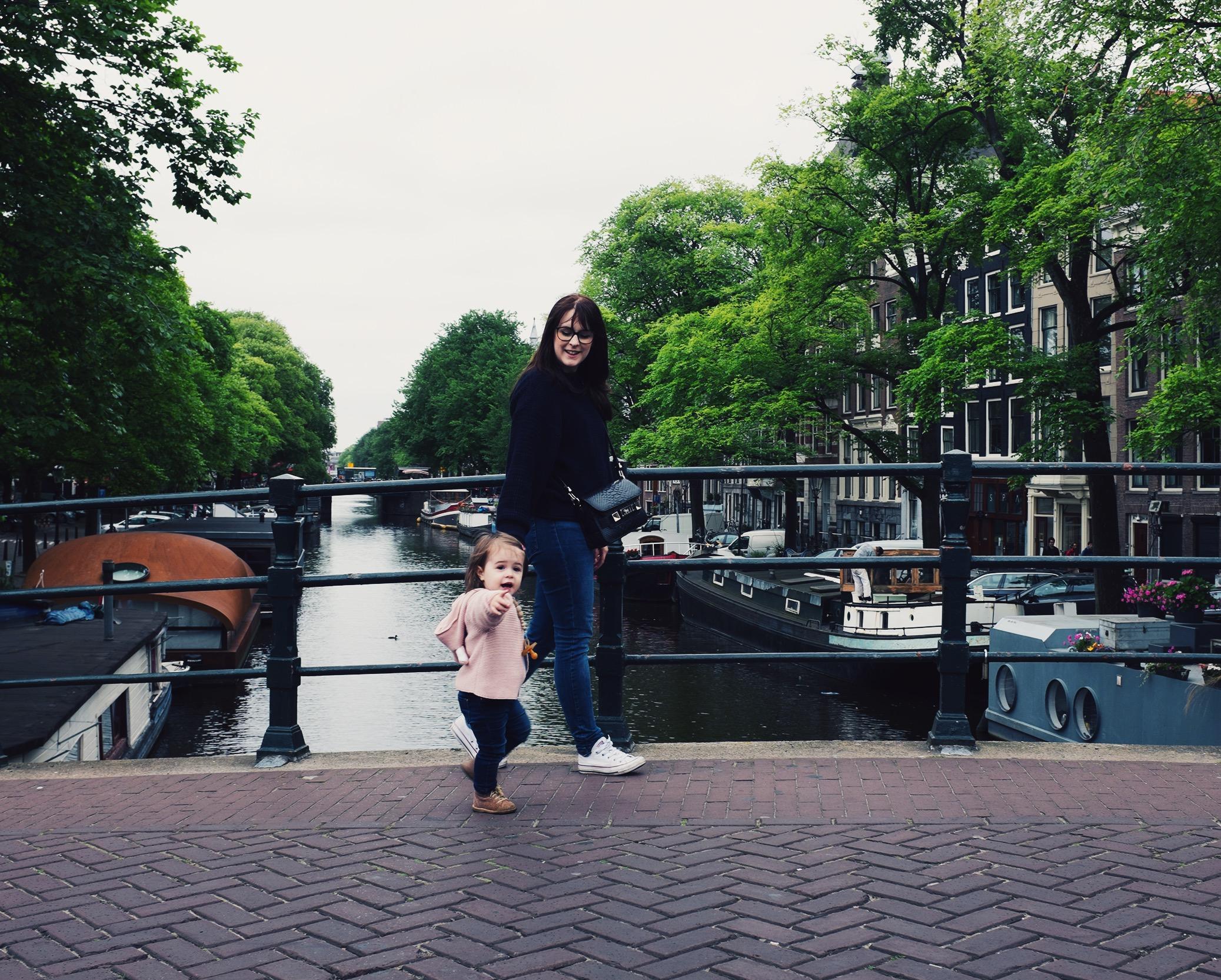 amsterdam anna frost fafine walking bridge prinsengracht