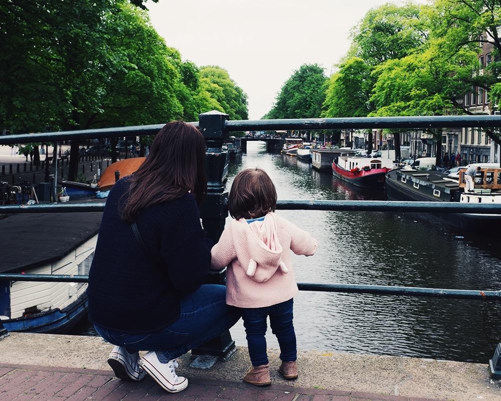 amsterdam anna frost fafine prinsengracht mom daughter travel reisen mit kindern