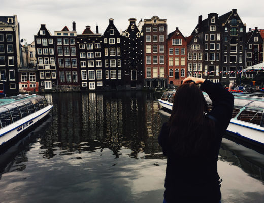 anna frost fafine amsterdam canal netherlands house