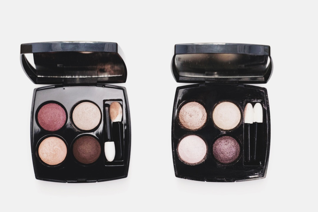 anna frost fafine de chanel les 4 ombres palette eyeshadow