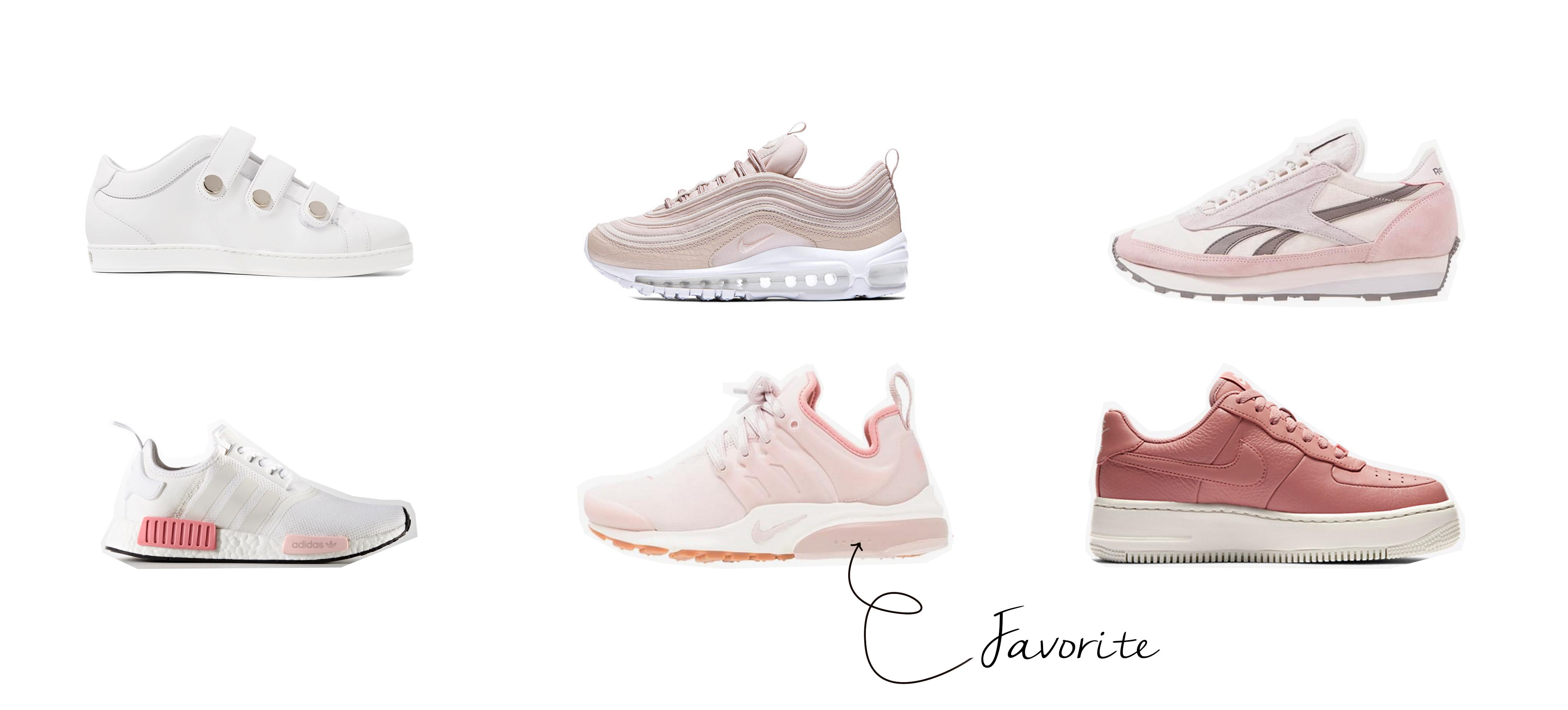 Favorite blush sneaker