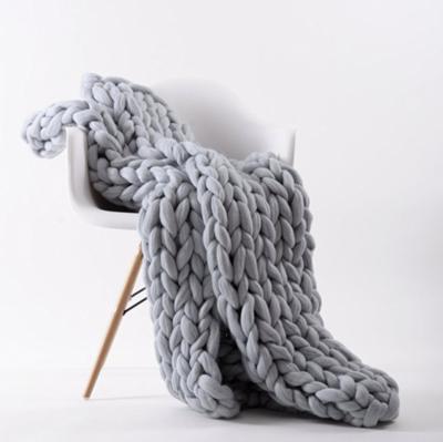 Chunky Knit Decke