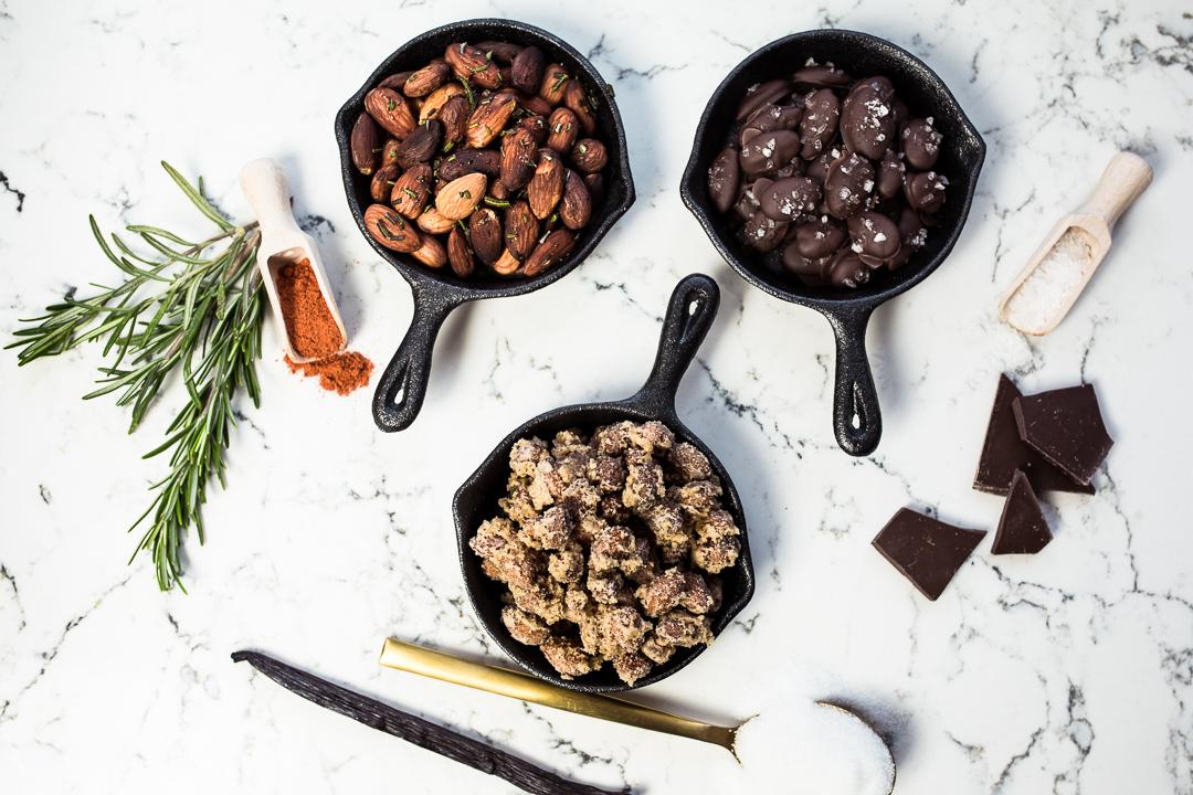 silvester snacks 3 rezepte mit california almonds. Black Bedroom Furniture Sets. Home Design Ideas